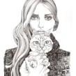 Lovely Mag. Un proyecto de Ilustración, Moda e Ilustración de retrato de Carmen García Huerta - 20.12.2016