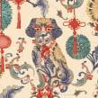 Año nuevo chino EL CORTE INGLÉS. Un proyecto de Ilustración y Publicidad de Carmen García Huerta - 01.02.2018