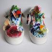 Vans Classic & Santiago. Un progetto di Belle arti, Pittura, Collage, Papercraft, Creatività, Disegno , e Pittura ad acquerello di Josefina Jiménez - 30.07.2014