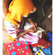 Khadi Project, Bikaner, India, 2015. A Stickerei project by Katy Biele - 02.03.2015