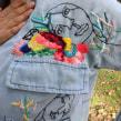 Pinturas y dibujos bordados en ropa. A Stickerei project by Katy Biele - 03.11.2018