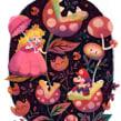 Super Mario Super Art Show en NYC.. A Illustration, Poster Design, Digital illustration, and Children's Illustration project by Gemma Román - 09.07.2018