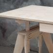 Mesón Caballetes. Un progetto di Design di mobili , e Product Design di Patricio Ortega (Maderística) - 22.08.2019