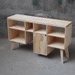 """Arrimo """"Caprichópodo XL"""" . Un proyecto de Artesanía, Diseño de muebles y Diseño de producto de Patricio Ortega (Maderística) - 22.08.2019"""