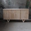 Aparador Ranurado. Un proyecto de Artesanía, Diseño de muebles y Diseño de producto de Patricio Ortega (Maderística) - 22.08.2019