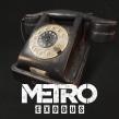 Teléfono Soviético Negro - Metro Exodus. Un projet de 3D, Modélisation 3D , et Jeux video de Paula Sánchez-Ferrero Ruiz - 05.08.2017