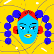 Faces . Un progetto di Illustrazione e Illustrazione digitale di Chabaski - 04.09.2019