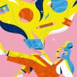 Marvin. Un progetto di Illustrazione e Illustrazione digitale di Chabaski - 04.09.2019