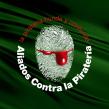 Aliados contra la Piratería, para expresar nuestro repudio hacia la destrucción de lo original.. A Br und ing und Identität project by Juan Carlos Fernández Espinosa (ex Ideograma) - 04.03.1999