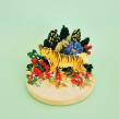 Bordado tridimensional. Um projeto de Design, Ilustração, Direção de arte, Artes plásticas, Colagem, Criatividade e Bordado de Josefina Jiménez - 10.09.2019