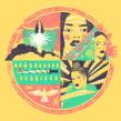 Top 3 Albums 2018. Un progetto di Illustrazione e Illustrazione digitale di Juan Dellacha - 20.09.2019