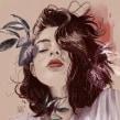 NUMEN IV. Un progetto di Illustrazione, Illustrazione digitale, Illustrazione di ritratto , e Disegno di ritratto di Elena Garnu - 08.06.2018