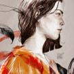 NUMEN V. Un projet de Illustration, Illustration numérique, Illustration de portrait , et Dessin de portrait de Elena Garnu - 11.12.2018
