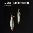 Gat Kitchen - Paris. Um projeto de Design, Direção de arte, Br, ing e Identidade, Design gráfico, Señalética e Criatividade de Valeria Dubin - 28.05.2012
