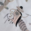 Mathemagician. A Embroider, and Textile illustration project by Adriana Torres - 12.01.2014