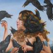 Los cuervos de leo. Un proyecto de Bellas Artes, Pintura y Creatividad de Jhoel Mamani Espinoza - 14.10.2019