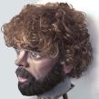 Cabeza Gigante de Tyrion Lannister. Un projet de Sculpture de Luaiso Lopez - 06.06.2016