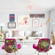 Vivienda en Mirasierra. Un proyecto de Diseño de muebles, Diseño de interiores y Decoración de interiores de Miriam Alía - 15.11.2019