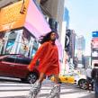 Juana Burga NYC. Un proyecto de Fotografía, Fotografía de moda, Fotografía digital y Fotografía en exteriores de Javier Falcón - 27.11.2019