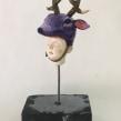 Pequeños bustos de Plastilina Epoxica. Un projet de Sculpture de Francesca Dalla Benetta - 02.05.2018