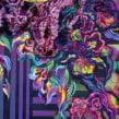 """""""Alegría"""" Mixed Media. Pintura con Bordado. Um projeto de Artes plásticas, Pintura, Bordado e Pintura Acrílica de Ana María Restrepo - 13.12.2019"""