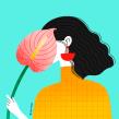 Anturio. Um projeto de Ilustração, Ilustração digital e Ilustração de retrato de Sara Tomate - 14.12.2019