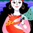 El Zorro y La Gitana. Un projet de Illustration, Illustration numérique et Illustration de portrait de Sara Tomate - 14.12.2019