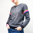 Stripey Sweater . A Crafts, Fashion, and Sewing project by Emma Friedlander-Collins - 01.03.2020