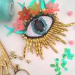 Ojos.. Un proyecto de Moda, Creatividad y Bordado de Camila Rubio Erazo - 30.08.2019