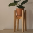 Porta Macetero H. A Woodworking, and Product Design project by Andrea Cortés (Barcelona Wood Workshops) - 01.23.2020