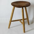 Taburete. A Furniture Design, and Woodworking project by Andrea Cortés (Barcelona Wood Workshops) - 01.23.2020