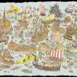 Jigsaws. Un proyecto de Dibujo e Ilustración de Mattias Adolfsson - 28.01.2020