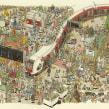 Norwegian railroads. A Illustration, Advertising, and Editorial Design project by Mattias Adolfsson - 01.28.2020