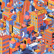 Samsung - NY Store. A Illustration project by Jorsh Peña - 01.31.2020