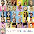 CARICATURE RESOLUTION 2020. A Comic project by Raúl Salazar - 02.01.2020