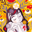 Personal flower illustrations. Un proyecto de Ilustración, Ilustración digital e Ilustración botánica de Isadora Zeferino - 03.01.2020