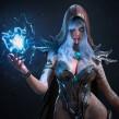 Witch. A 3-D, 3-D-Modellierung, Videospiele, Design von 3-D-Figuren, 3-D-Design und Videospielentwicklung project by Manu Herrador - 03.02.2020