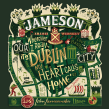 Jameson Whiskey. A Illustration, Grafikdesign, Verpackung und Lettering project by Steve Simpson - 04.03.2015