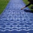 Proyecto Lago - Teñido con reservas en grandes dimensiones. Un proyecto de Creatividad e Ilustración textil de Carolina Raggio - 15.03.2018