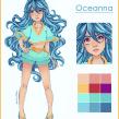 Oceanna. A Concept Art project by Natália Dias - 02.13.2020