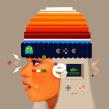 Pixel Beanies. Um projeto de Ilustração e Ilustração de retrato de Samuel Rodriguez - 15.08.2019