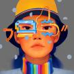 Bucket Hat Battle. Un progetto di Illustrazione, Illustrazione digitale e Illustrazione di ritratto di Samuel Rodriguez - 15.08.2019