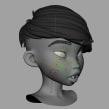 Prueba de deformación facial. Um projeto de Rigging, Animação de personagens e Animação 3D de Iker J. de los Mozos - 18.02.2020