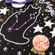 Gatito zodiaco. Un proyecto de Bordado de Nayla Marc - 18.02.2020