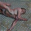 Óleo sobre papel. 30 x 30 cm.. Un progetto di Pittura ad olio di Ale Casanova - 23.02.2020