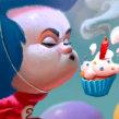Happy Birthday Dr Seuss . Um projeto de Ilustração de Joel Santana - 02.03.2020
