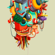 CASTILLOS DE COLOR. A Illustration, and Art Direction project by Óscar Lloréns - 03.12.2020