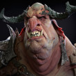 Troll bust. A 3D, 3d modeling, and 3D Character Design project by Juan Novelletto - 03.16.2020