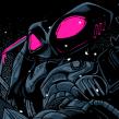 Black Manta   Blacklight 2. Un projet de Conception d'affiche de Wes Art Studio - 23.03.2020