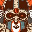 Queens Of The Stone Age. Um projeto de Design de cartaz de Wes Art Studio - 23.03.2020